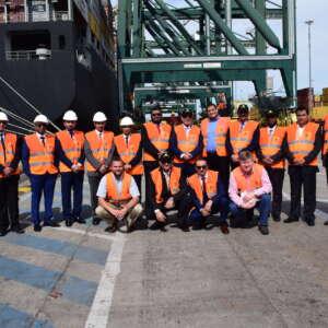 """وفد ميناء الملك عبد الله يزور ميناء """"بلنسية"""" للاطلاع على الإجراءات التشغيلية المتبعة في أكبر موانئ أسبانيا"""