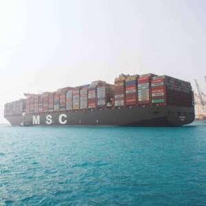 """في دلالة على تصاعد تنافسية المملكة وأهمية مكانتها اللوجستية العالمية ميناء الملك عبدالله يستقبل سفينة """"MSC مينا""""، """"الفئة الأضخم في العالم"""""""