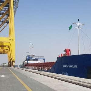 ميناء الملك عبدالله يستقبل أولى شحنات البضائع السائبة السائلة