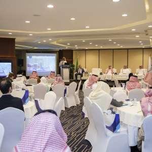 حلول لوجستية مبتكرة من ميناء الملك عبدالله في غرفة الرياض ورشة عمل تعريفية بحضور ممثلين من عالم التجارة والصناعة و الخدمات اللوجستية وبمشاركة الصادرات السعودية والصندوق الصناعي