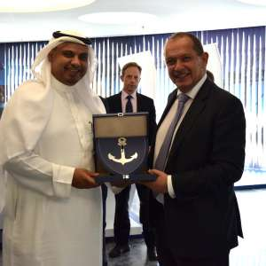 KING ABDULLAH PORT WELCOMES UK AMBASSADOR AND DISCUSSES METHODS OF COOPERATION WITH BRITISH COMPANIES