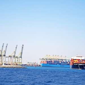 Major Increase in Critical Goods Handling at King Abdullah Port