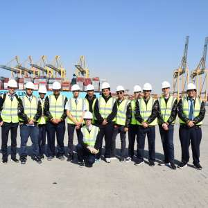 King Abdullah Port Organizes 'SEA CAPTAIN DAY' For Students Of The World Academy