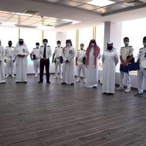 """ميناء الملك عبدالله يحتفي بخريجي برنامج """"مراس"""" التدريبي من طلاب جامعة الملك عبدالعزيز"""