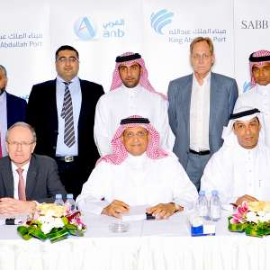 King Abdullah Port Signs 2.7 Billion SAR Financial Agreement with SABB and the Arab National Bank for Next Phase Expansion
