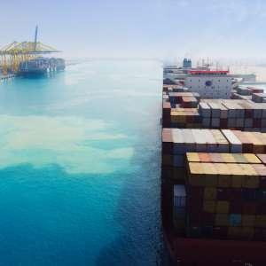 بزيادة سنوية ٢١٪ ميناء الملك عبدالله ثاني أكبر ميناء في المملكة